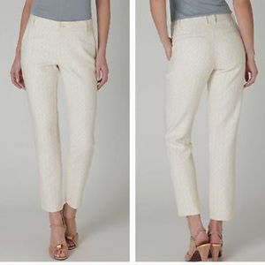Anthro Daughters of the Liberation Geo crop pants